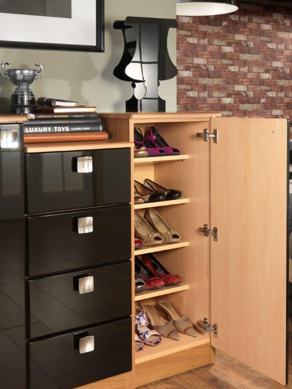 5 storage solutions every home should have hartleys rooms hartleys bedrooms - Types of shoe storage solutions for the bedroom ...